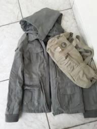 Jaqueta G  e bolsa combinando