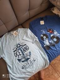 Camisetas masculinas juvenil