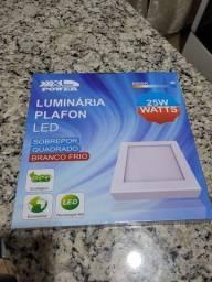 Título do anúncio: Luminária Paflon Led - NOVO SEM USO