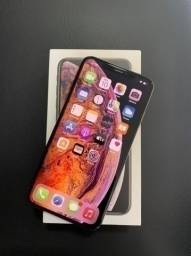 IPhone Xs Max 64GB Gold Completo Com garantia e NF Entrega Grátis Divido no cartão até 12X
