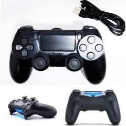Controle PS4 Com Fio ou Sem Fio / Melhor Custo Benefício