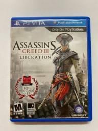 Jogo para PS Vita - Assassin?s Ceed III - Liberation