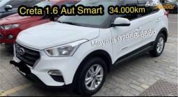 Título do anúncio: Creta Smart 2019 Aut 34.000km com couro