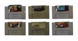 18 Jogo de Super Nintendo -  Não vendo individual