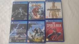 Jogos PS4 diversos