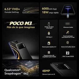 SmartPhone xiaomi Poco M3 128GB+4GB Global Amarelo