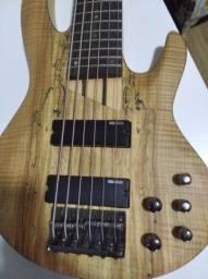 Baixo 6 cordas - ESP/LTD B-206SM