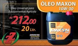 Óleo de equipamentos agrícola 10 W-30 Maxon 20 litros