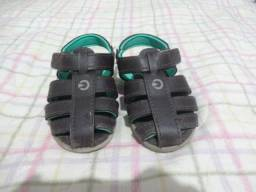Sandália infantil masculina. nº 21. As 4 sandália