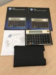Calculadora HP 12C Gold Dourada