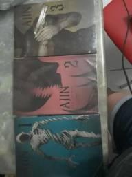 Mangá Ajin volumes 1 ao 3