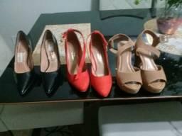 Sapatos de diversas marcas