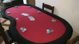 Poker mesa tan pão