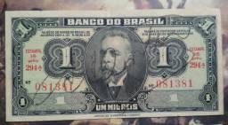 Brasil Cédula C001 - Manolita. Autografada