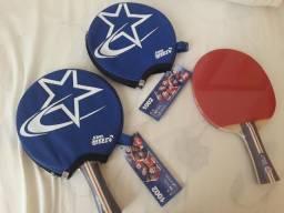 30ff0ed0b 1 (uma) Raquete Tenis De Mesa Dhs 1002 Clássica + Case (capa Corte