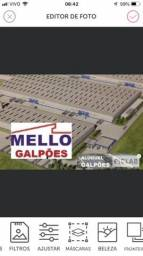 Galpões em Condomínio, Altura do Pé Direito - 12 metros , Docas