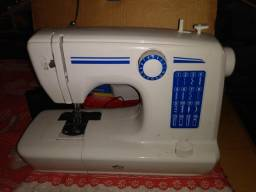 Máquina portátil de costura bivolt