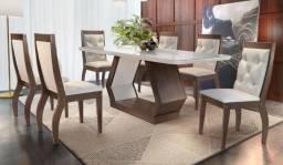 Mesa de Jantar com 6 Cadeiras J53 - Alvorada