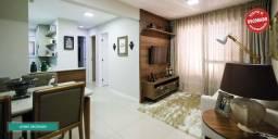 2 quartos com suíte em 57m² com uma vaga de garagem na Santa Teresa