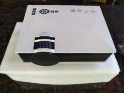 Mini Projetor Led Profissional 1200 Lumen Wifi Wireless Uc46