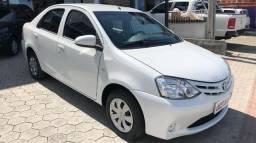 Etios Sedan 1.5X - 2016 - Branco - 2016
