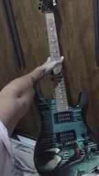 Troco guitarra phx série Marvel por contra baixo