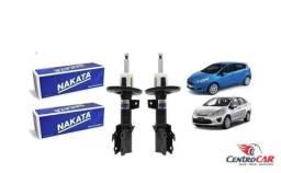Par de Amortecedor Dianteiro New Fiesta Hatch Sedan 2011.New KA 2014