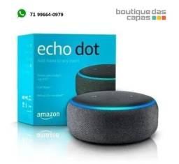 Título do anúncio: Echo Dot Amazon Smart Speaker Alexa 3ª Geração em Português original