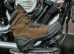 Bota tática militar Masculina 100% Couro Gogowear