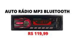 Auto Radio Automotivo Bluetooth Mp3 Player 1 Din