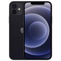Vende-se iPhone 12 na cor preta de 128 gb