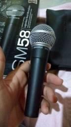 Microfone Shure Sm58 Profissional