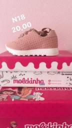 Sapatos de bebê feminino