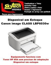 Impressora Laser Mono Canon Lbp6030w (HP P1102W)Com Wifi (Funciona com Toner 85A)