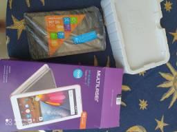 Tablet M7 Multilaser 3G Plus/ 16gb / semi novo com 4 meses/nota fiscal