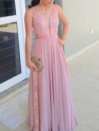 Vestido de Festa Rosé - Dolps