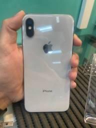 iPhone X 64GB Silver - Open Box ( 3 meses de garantia da loja)