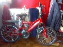 Bicicleta Infantil Fischer FastBoy Aro 20 com 18 Marchas (pouco usada)