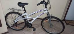 Linda bicicleta feminina Caloi Aluminium 100 Confort
