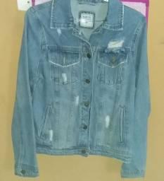 Jaqueta Jeans tamanho PP