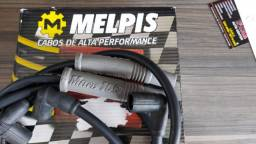 Jogo de Cabo De Velas Melpis Silicone 10MM VW