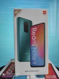 Redmi Note 9 da Xiaomi..Alto nível! NOVO LACRADO COM GARANTIA