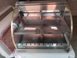 Estufa de salgados grande 4 bandejas.