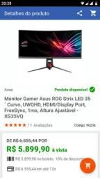 Monitor Gamer Asus Rog Strix 35 Curvo Uwqhd