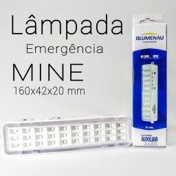 Luminária Emergência meni, kit com 2