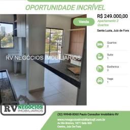 Pp Seu 02 quartos com suíte, varanda, elevador no Santa Luzia