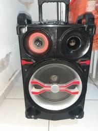 """Caixa de Som Amplificada Mondial CM-13, Equalizador, 400W, 10""""<br><br>"""