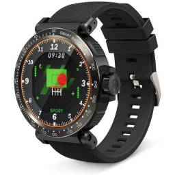 "Smartwatch Blitzwolf BW-AT1 Bluetooth, Tela HD 1.3"", Full Touch, IP68, Monitor Spo2²"