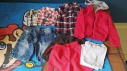 Lote roupas menino tam 2 e 3