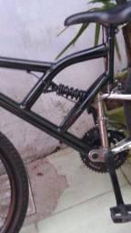 Bicicleta de mola e amortecedor v-break novo de plástico mas muito resistente